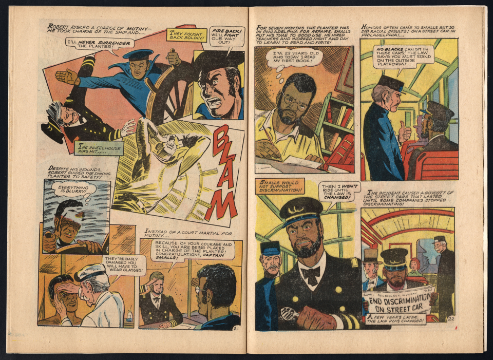 Golden Legacy, Pages 21–22