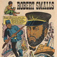 Drawings of Robert Smalls from Golden Legacy