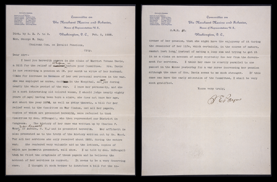 Letter from Sereno Payne to George Ray