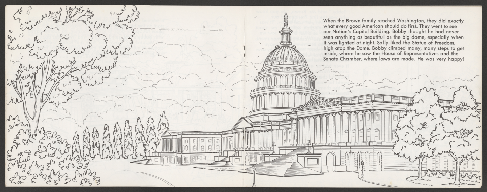 """""""My Government"""" Coloring Book, Visiting the Capitol"""