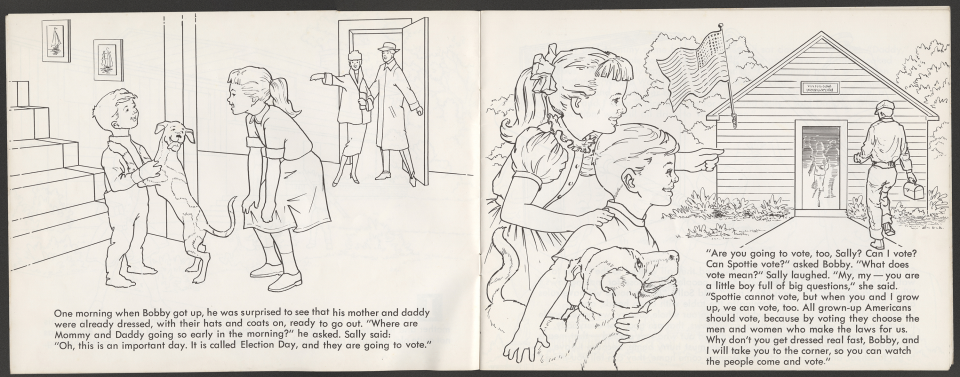 """""""My Government"""" Coloring Book, Learning About Voting"""