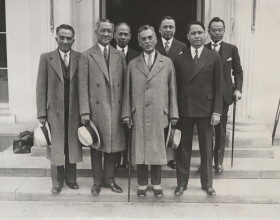 Meeting with President Roosevelt