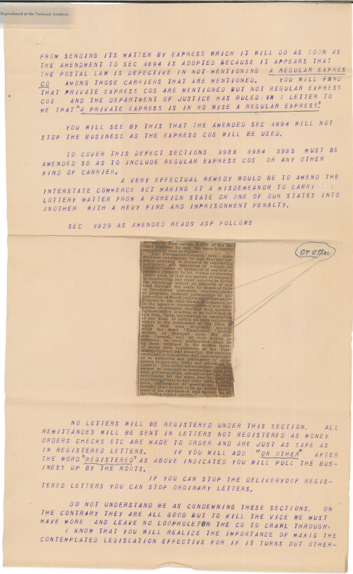 Letter from W. Van Benthuysen to Henry H. Bingham, page 2