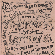 A Marvel among Swindles: The Louisiana State Lottery Company and the Post Office Department