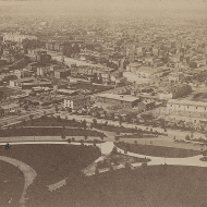 Looking Northwest from the Capitol Stereoview