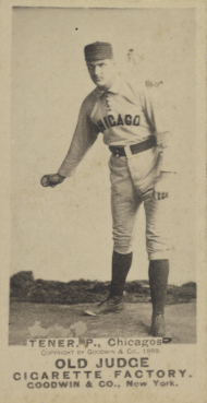 John Tener, Chicago White Stockings Baseball Card