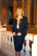 <em>Tina Tate in Cannon House Office Building Rotunda, 1995</em>