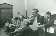 <em>House Judiciary Committee Impeachment Hearing, 1974</em>