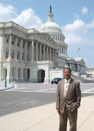 <em>Frank Mitchell at the Capitol, 2008</em>