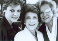 <em>Cokie Roberts with Representative Lindy Boggs and Barbara Boggs Sigmund</em>