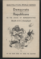 <em>Congressional Baseball Program, 1932</em>
