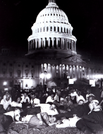 <em>World War I Bonus March at Capitol, 1932</em>