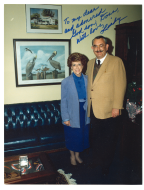 <em>Donnald Anderson and Representative Lindy Boggs</em>