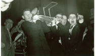 <em>1954 Chamber Shooting Image of House Pages</em>