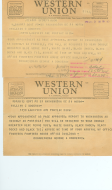 <em>House Page Appointment Telegram, 1953</em>