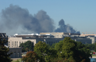 <em>Smoke from the Pentagon after the Attacks</em>