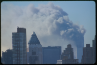 <em>The New York City Skyline on the Morning of the Attacks</em>