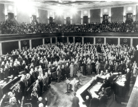 Swearing in of the 82nd Congress