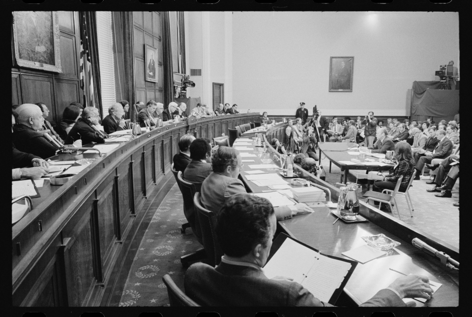 Testifying on the Pardoning of President Richard M. Nixon