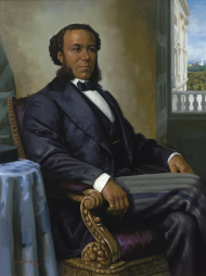 Joseph Rainey of South Carolina was the first African-American Representative to serve in Congress.