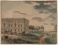 The First Time the House Met in the North Wing of the Capitol