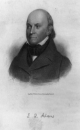 Congressman and Poet John Quincy Adams of Massachusetts