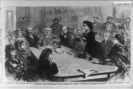 The First Woman to Address a Congressional Committee