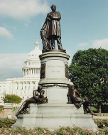 The Unveiling of the President James A. Garfield statue