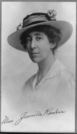 The Swearing-In of the First Woman Elected to Congress, Representative Jeannette Rankin of Montana