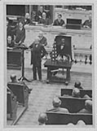 The recitation of the Gettysburg Address on the House Floor