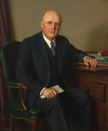 Portrait of Speaker of the House Sam Rayburn