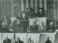 Winston Churchill addressed a Joint Meeting of Congress
