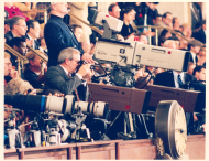 For years, television cameras had covered special events in the House Chamber such as State of the Union Addresses and speeches by foreign dignitaries. It was not until the late 1970s, however, that House Floor debates were televised live.