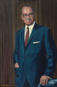 A World War I veteran, William Dawson of Illinois served as chairman of two committees: Expenditures in the Executive Departments and Government Operations.