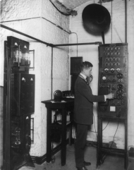 The radio sound room at the U.S. Capitol
