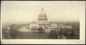 Above is an image of the East Front of the Capitol as it looked in 1906.