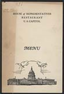 <em>House Restaurant Menu</em>