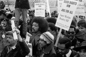 Jesse Jackson, Sr., Protests Unemployment