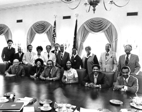 CBC Meeting with President Ford