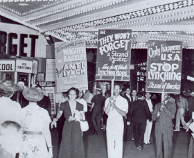 NAACP Anti-Lynching Protest