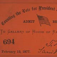 1877 Electoral College ticket
