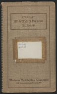 <em>Grade Book of the Congressional Page School</em>