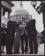 <em>Frank Mitchell With Republican Leadership</em>