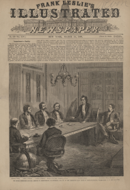 Interest in committee activity grew over the course of the 19th century, even warranting front-page illustrations.