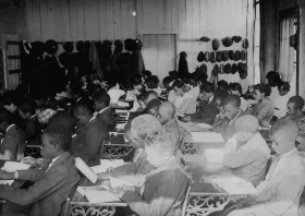 A Segregated School in Oklahoma