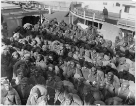 African-American Troops Return from Europe