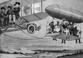 Puck Illustrated Airship