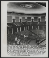 <em>Shooting in the House Chamber</em>