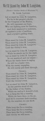 Langston Campaign Song