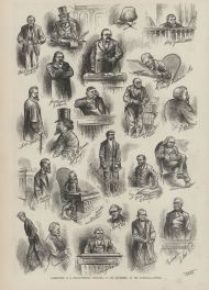 Washington, D.C. - Characteristic Sketches of Our Statesmen at the National Capital